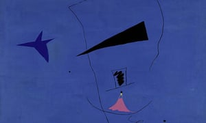 Joan Miró's painting Peinture (Étoile Bleue) which is to be sold at Sothebys Modern Art Sale