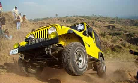 An Islamabad Jeep Club member puts his 4x4 through its paces