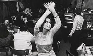 A woman dancing at a Turkish club in in the North Rhine-Westphalia region of Germany in 1982