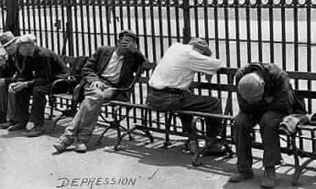 Unemployed Men During the Great Depression