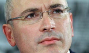 Mikhail Khodorkovsky At Press Conference In Berlin