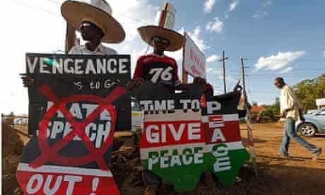 Activists call for peaceful elections before Kenya's first ever presidential debate in Nairobi