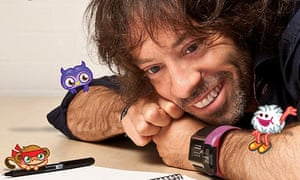 Michael Acton Smith, whose company is behind Moshi Monsters