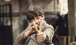 Adrian Dannatt as William in the ITV series Just William