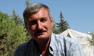 Syrian Colonel Riad al-Assad, one of the highest-ranking Syrian officers to defect,