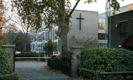 The London Oratory school in Fulham, west London.