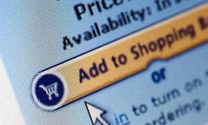 Internet shopping screen shot