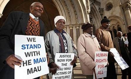 Kenyans seeking compensation from Britain for Mau Mau-era torture