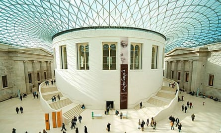 British Museum's Great Court, designed by Richard Rogers