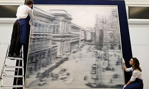 Gerhard Richter's 1968 painting Domplatz, Mailand,