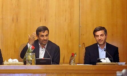 Mahmoud Ahmadinejad Esfandiar Rahim Mashaei Mohammad Reza Rahimi