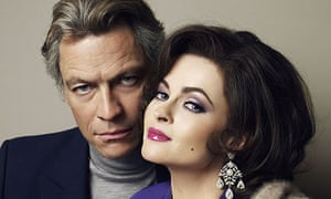 Dominic West and Helena Bonham Carter as Richard Burton and Liz Taylor in BBC4's Burton and Taylor