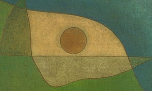 Gaze of Silence, a 1932 painting by Klee that took abstraction even further.