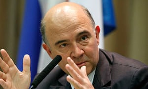 Pierre Moscovici, France's finance minister, called for a link between tax and collection of data