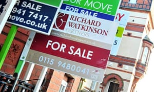 housing for sale signs. The Treasury's Funding for Lending Scheme has helped fuel optimism