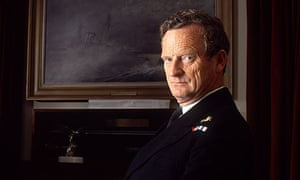 Admiral Sandy Woodward, leading the most successful British naval expedition since 1945