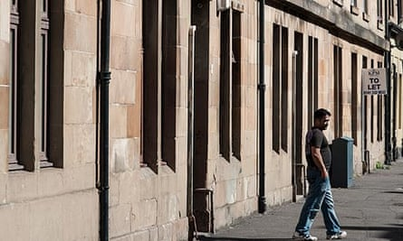 Govanhill, Glasgow. Carol Robertson told Raquel Rolnik she couldn't afford to have central heating