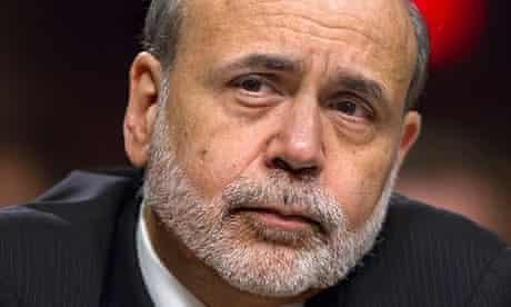 Ben Bernanke, the US Federal Reserve chairman