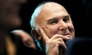 Vince Cable at the Liberal Democrat conference in Glasgow