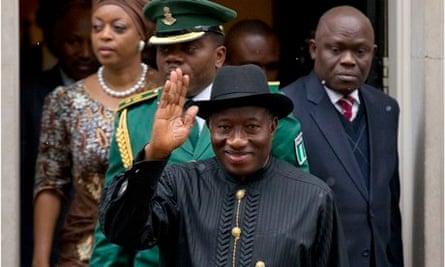Nigeria's President Goodluck Jonathan.