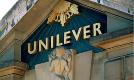 Unilever's headquarters in London