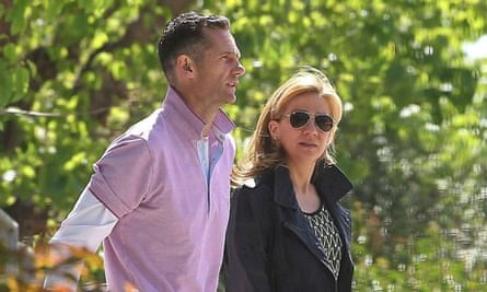 Spain's Princess Cristina with her husband Inaki Urdangarin last April.