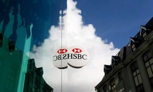 branch of HSBC Bank in St Helier, Jersey
