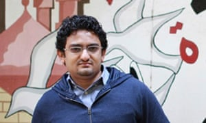 Wael Ghonim, who created the Facebook page We Are All Khaled Said