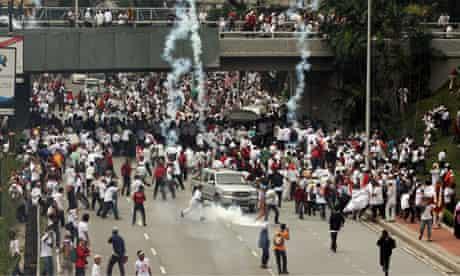 Malaysia language riots