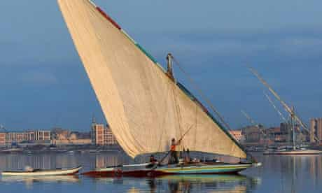 Lake Borolos Egypt