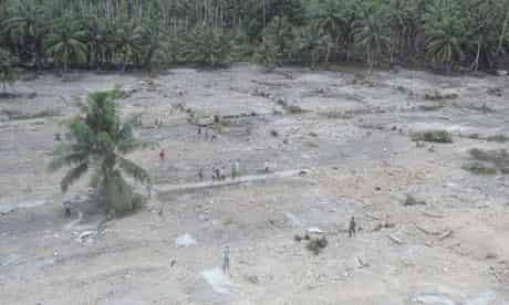 Muntei Baru Baru tsunami