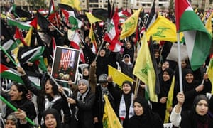 hezbollah-anti-Israel-demonstration