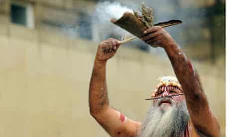 Ngarrindjeri smoking ceremony