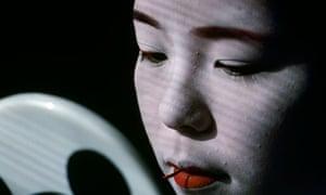 Young geisha in Kyoto Japan