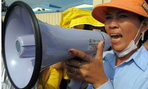 cambodia garment strike