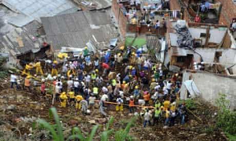 Landslide Medellin