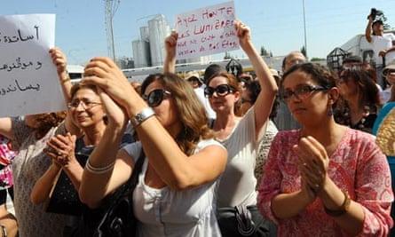 Manouba university protest