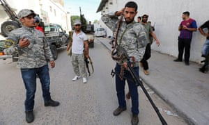 Libyan security vacuum