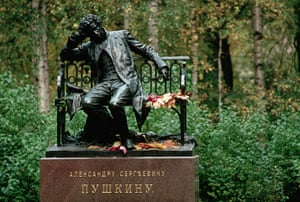 St Petersburg museums: Statue of Alexander Pushkin