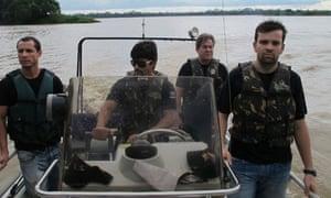 Brazil drug trade police