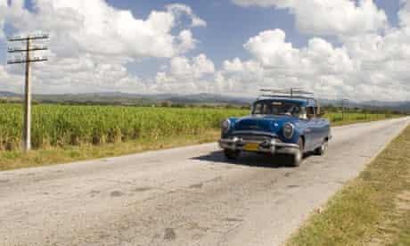 cuba car journey