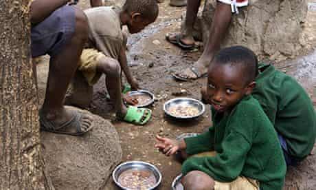 Tanzania - students at Engaruka