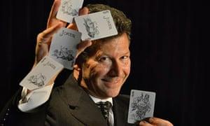 Magician Mark Phillips