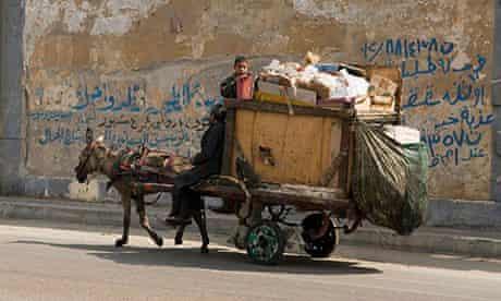 Zabaleen rubbish collectors