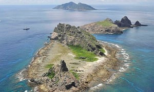 Senkaku Diaoyu islands