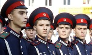 Cossacks in Novocherkassk