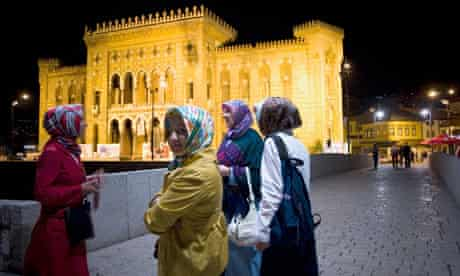 Turkish women in Sarajevo