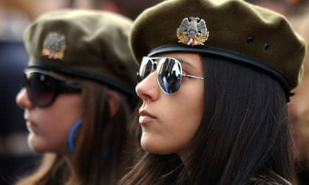 Kosovo Serb girls