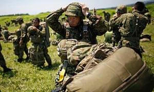 Japan self defence force