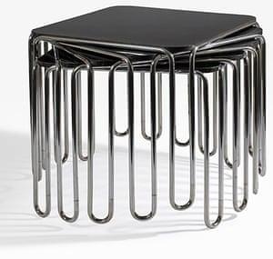 Marcel Breuer: Breuer nesting tables
